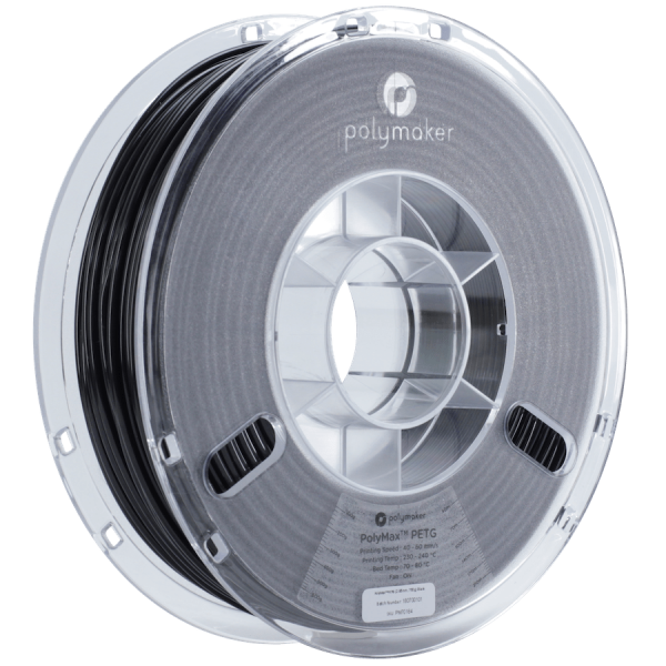 PolyMaker PolyMax PETG True Black in 1,75mm 750g