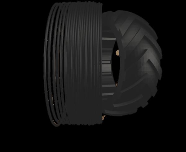 TreeD Flexmark 8 flexible TPU Filament 1,75mm 500g 81A